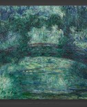 Claude Monet: The Japanese Bridge 1919