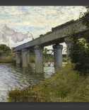 Claude Monet: The Railroad Bridge in Argenteuil
