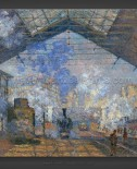 Claude Monet: The Saint-Lazare Station