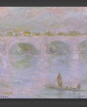 Claude Monet: Waterloo Bridge in London 1902