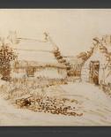 Vincent van Gogh: Two Cottages at Saintes-Maries-de-la-Mer