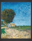 Vincent van Gogh: Avenue at Arles