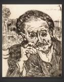 Vincent van Gogh: Dr. Gachet – Sketch 1890