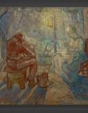 Vincent van Gogh: Evening – after Millet 1889