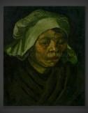 Vincent van Gogh: Head of a Woman 1885 II