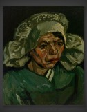 Vincent van Gogh: Head of a Woman 1885 IV