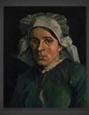 Vincent van Gogh: Head of a Woman III 1884