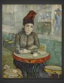 Vincent van Gogh: In the Cafe – Agostina Segatori in Le Tambourin