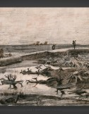 Vincent van Gogh: Landscape with Bog Trunks