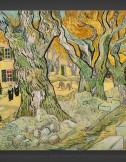 Vincent van Gogh: Large Plane Trees – Road Menders at Saint-Remy I 1889