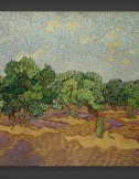 Vincent van Gogh: Olive Grove with Pale Blue Sky