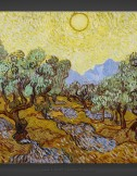 Vincent van Gogh: Olive Trees with Yellow Sky and Sun