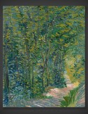 Vincent van Gogh: Path in the Woods