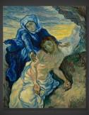 Vincent van Gogh: Pieta – after Delacroix 1889