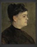Vincent van Gogh: Portrait of Agostina Segatori 1887