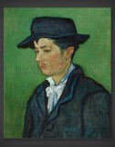 Vincent van Gogh: Portrait of Armand Roulin 1888