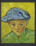 Vincent van Gogh: Portrait of Camille Roulin 1888
