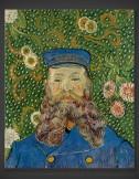 Vincent van Gogh: Portrait of Joseph Roulin I 1889