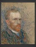 Vincent van Gogh: Self-Portrait VII 1887