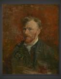 Vincent van Gogh: Self-Portrait with Glass