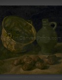 Vincent van Gogh: Still Life with Brass Cauldron and Jug
