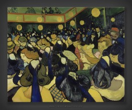 Vincent van Gogh: The Dance Hall in Arles
