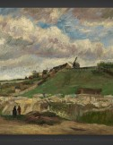 Vincent van Gogh: The Hill of Montmartre with Stone Quarry II 1886