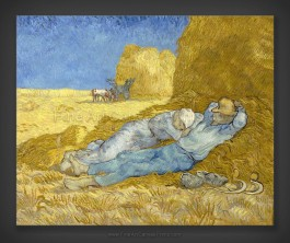 Vincent van Gogh: The Siesta after Millet 1890