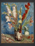 Vincent van Gogh: Vase with Gladioli and Chinese Asters