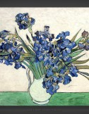 Vincent van Gogh: Vase with Irises