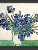 Vincent van Gogh: Vase with Irises