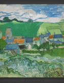 Vincent van Gogh: View of Auvers 1890