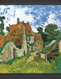 Vincent van Gogh: Village Street in Auvers-sur-Oise
