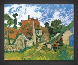 Vincent van Gogh: Village Street in Auvers-sur-Oise