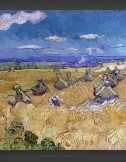 Vincent van Gogh: Wheat Fields with Reaper 1890