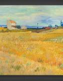 Vincent van Gogh: Wheatfield 1888