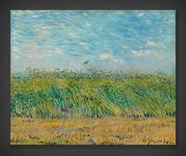 Vincent van Gogh: Wheatfield with Partridge 1887