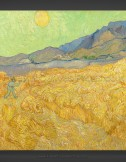 Vincent van Gogh: Wheatfield with a Reaper 1889