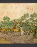 Vincent van Gogh: Women Picking Olives I 1889