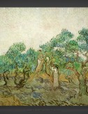 Vincent van Gogh: Women Picking Olives II 1889